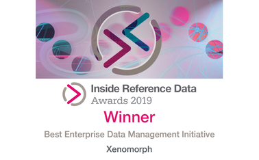 IMDIRD19 – 41 Best Enterprise Data Management Initiative – Xenomorph