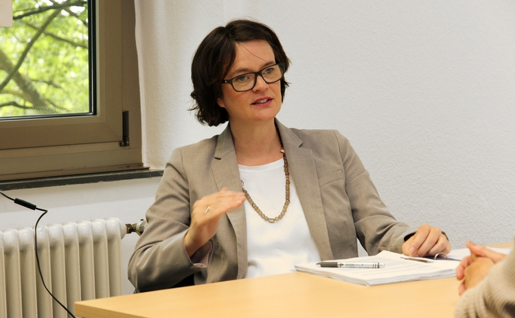 Silke Deppmeyer, Head of Section at BaFin's Central Legal Department