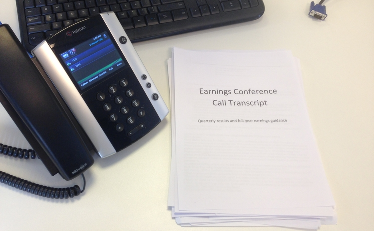 earnings-call-conference-call-transcript