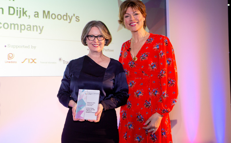 Witad 2019 Reference data professional of the year: Louise Green, Bureau van Dijk, a Moody's Analytics company