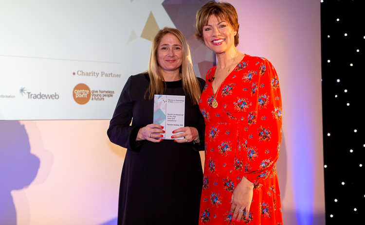 Witad 2019 Vendor professional of the year (data and operations): Tamsin Hobley, SIX