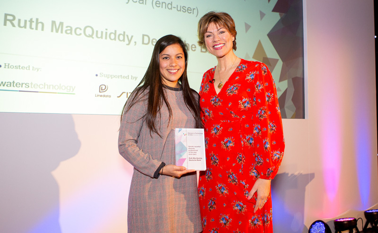 Witad 2019 Gender equality/diversity professional of the year (end-user): Ruth MacQuiddy, Deutsche Bank