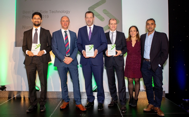 Numerix SST Awards 2019 overall tech provider