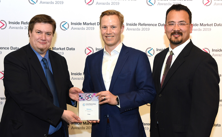 IMDIRD19 – 55 Best Real-Time Data Initiative – Exegy