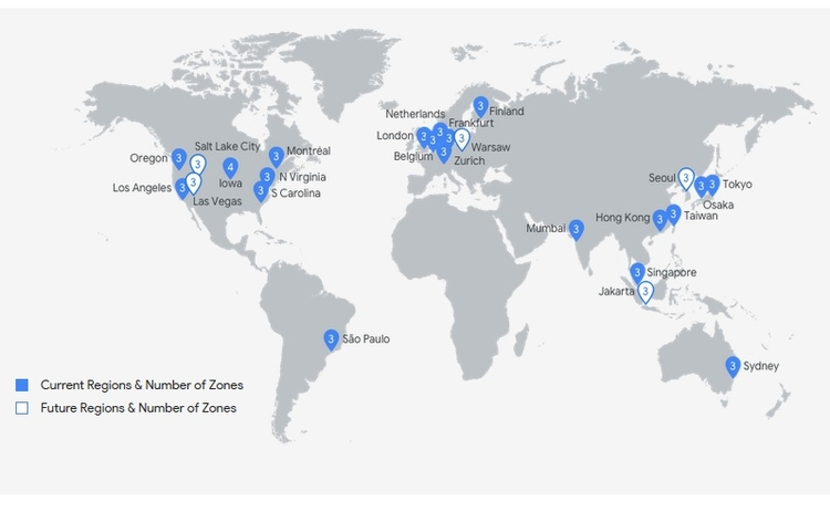 google-cloud-regions-zones