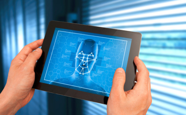 Tablet face recognition