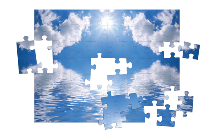 Cloud jigsaw