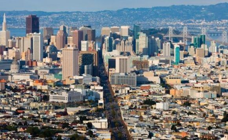 A view of downtown San Francisco