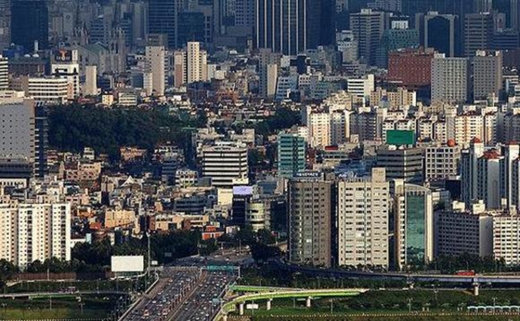 A view of Seoul in South Korea