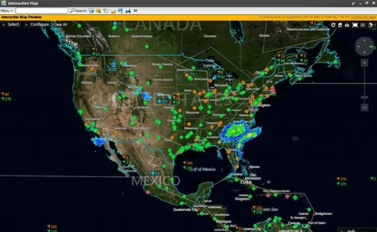 Thomson Reuters Ships Commodities Interactive Map on Eikon