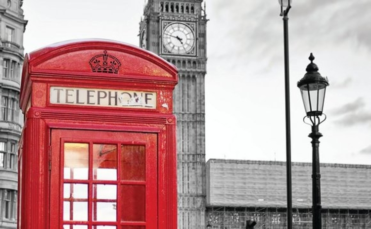 Telephone box in Parliament Square