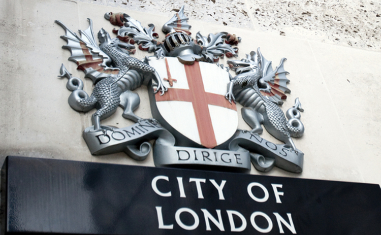 City Of London sign