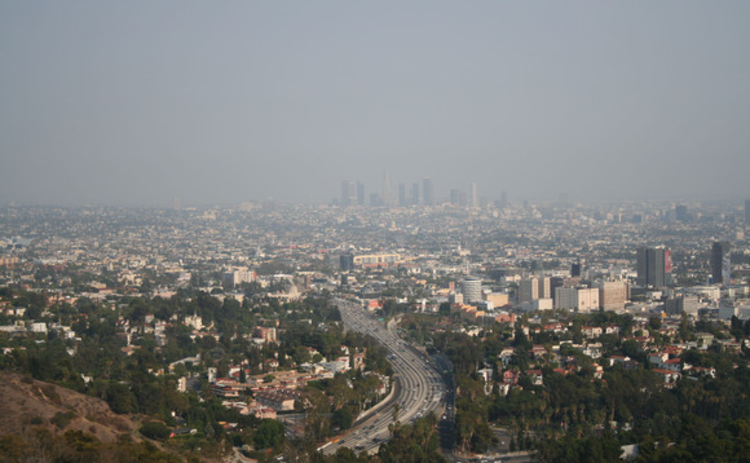 Smog over Los Angeles