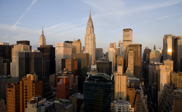 manhattan-new-york-skyline-dawn-chrysler-empire-state-building