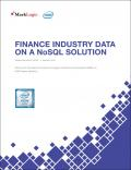 Finance Industry Data - The Opportunity for Transformation